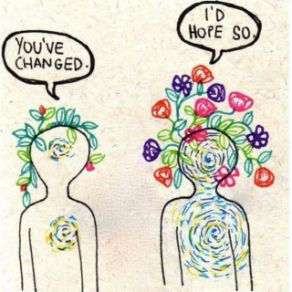 sad girls in big coats