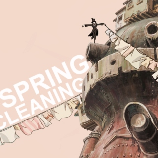 ❀ SPRING CLEANING