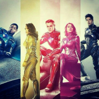 You five are the Power Rangers.
