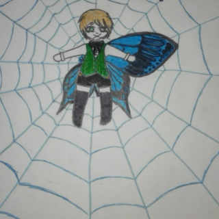 The Butterfly Trapped In The Spiderweb Has No Wings