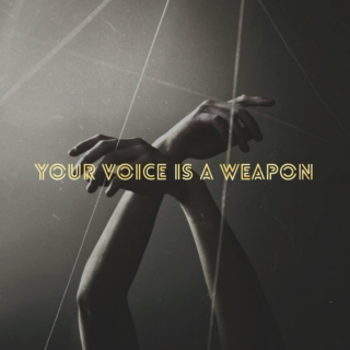 your voice is a weapon (a mix for lochaana naarabot)