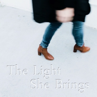 The Light She Brings
