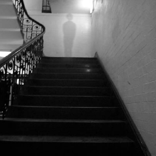 the ghost in the stairwell