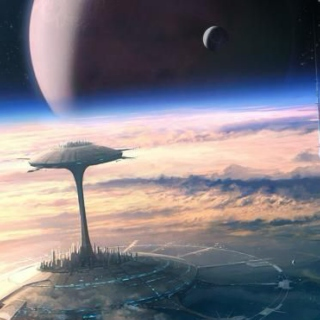 Living in a City in Outer Space