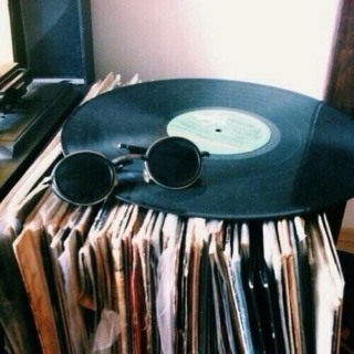 { moony's record collection }