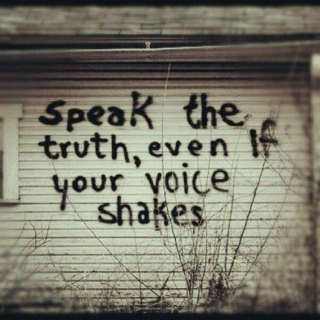 """""""Speak Your Truth"""" - by Earth Dog, Justice, and High Priestess"""