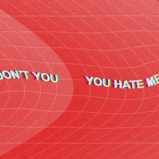 you hate me don't you