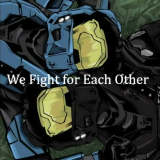 We Fight For Each Other