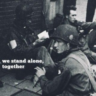 we stand alone, together