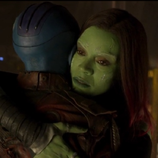 Nebula and Gamora - You Will Always Be My Sister