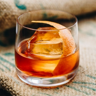 A Bourbon Old Fashioned For Our Guests