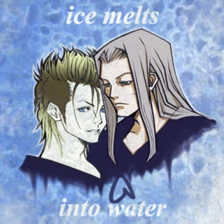 ice melts into water