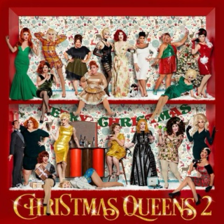 Christmas with drag queens !