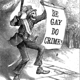 be gay, do crime