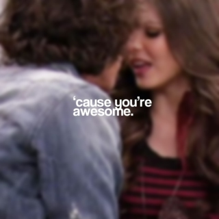'cause you're awesome | tori/beck