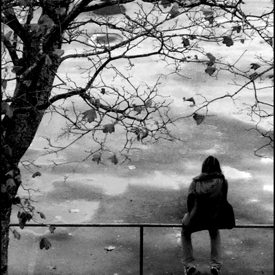 I'm alone...and that's okay.