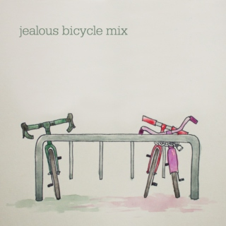 a jealous bicycle