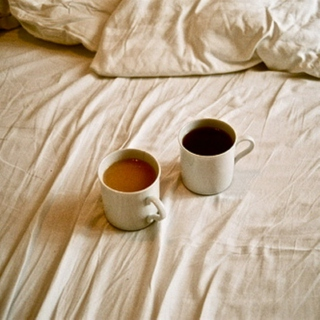 You and the coffee and the morning