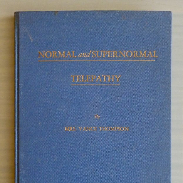 normal and supernormal telepathy