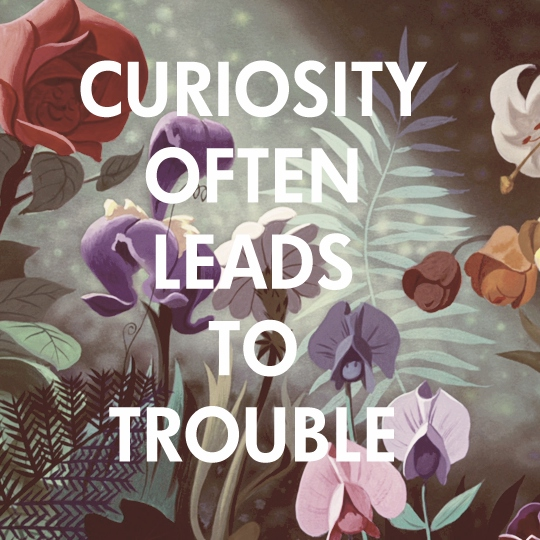 Curiosity often leads to trouble