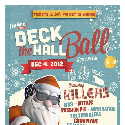 Deck The Hall Ball 2012