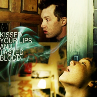 kissed your lips and i tasted blood