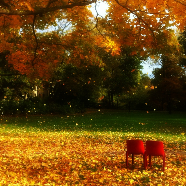 Listening to the sounds of fall