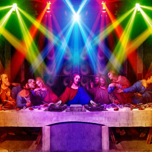 Jesus Died for your Spins...party on!
