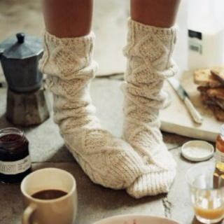 Wool Socks & Grandpa Sweaters