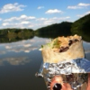 a beautiful day and a burrito in your hand.