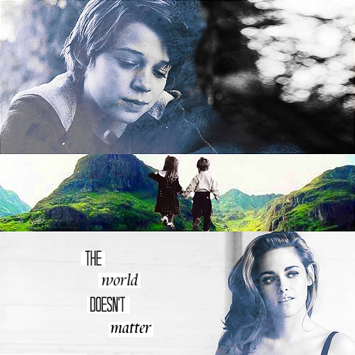 the world doesn't matter.