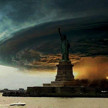 Hurricane Sandy Storm