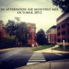 In Afternoon Air Monthly Mix: October 2012