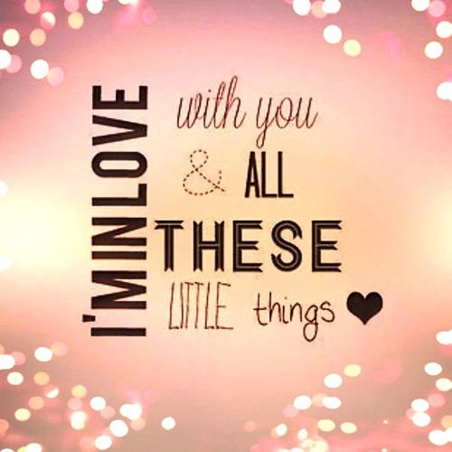 And all these little things