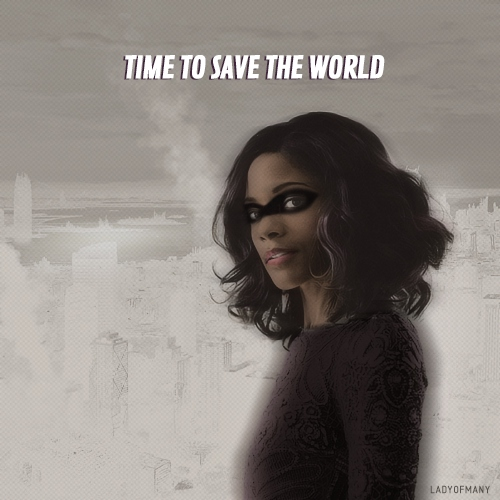 time to save the world