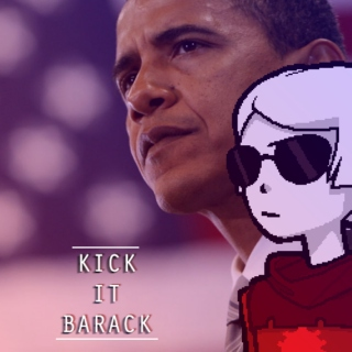 kick it barack