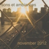 sons et ambiances november 2012