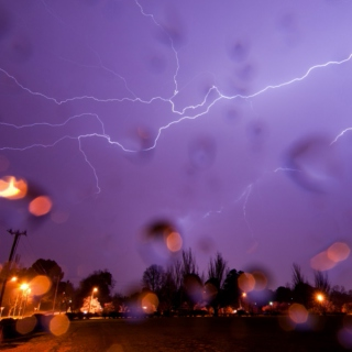 As forces of nature unleash...