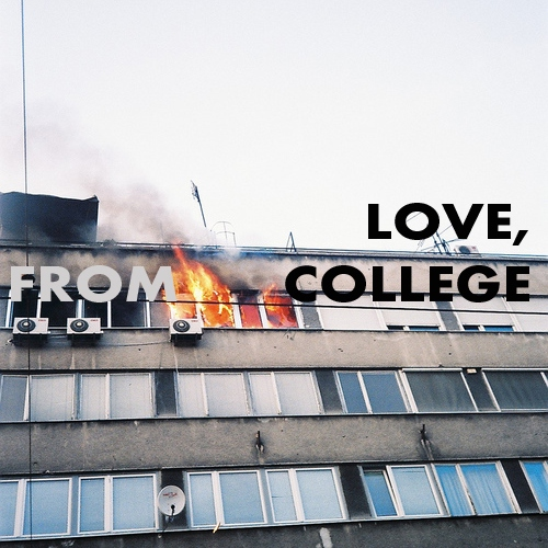 LOVE, FROM COLLEGE.