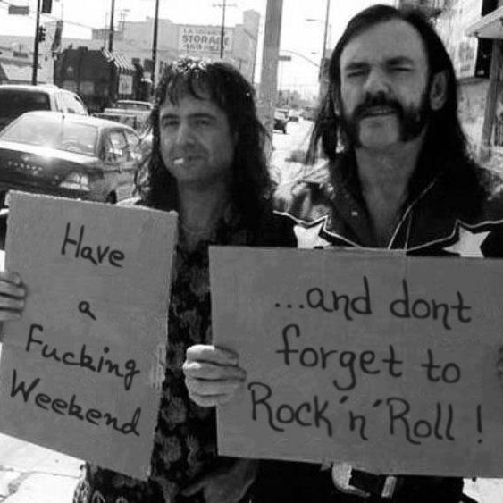 Have a Fucking Weekend.