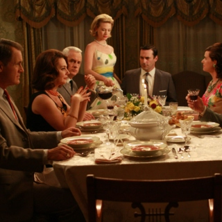 Old-Fashioned Dinner Party