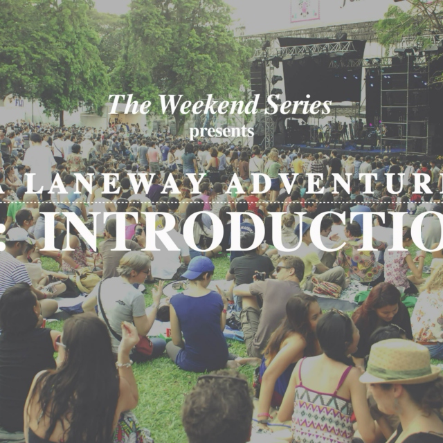 Laneway Adventure 01: Introduction