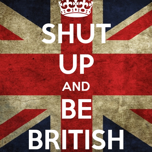 Keep it British.
