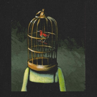 but you will stay in my memory like a bird in a cage