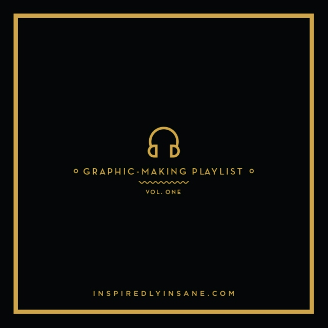 Graphic-Making Playlist (Vol.1)