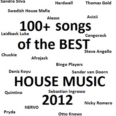 BEST HOUSE/PARTY SONGS 2012 COMPILATION