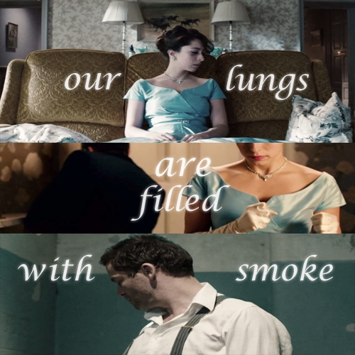 our lungs are filled with smoke
