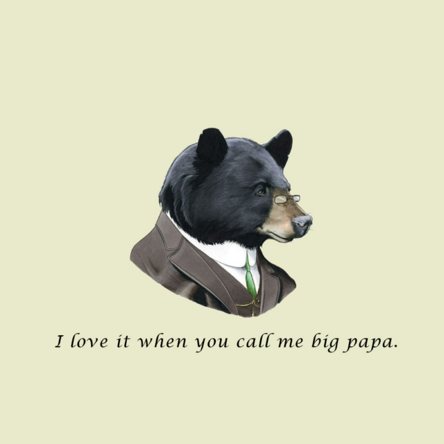 Writing papers, I can hardly bear it.