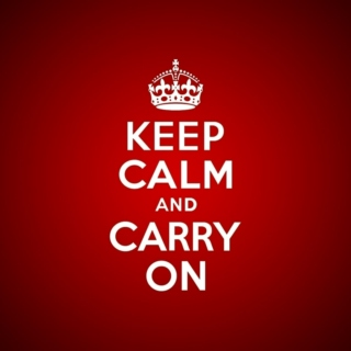 Keep Calm and Carry On (11/30/12)