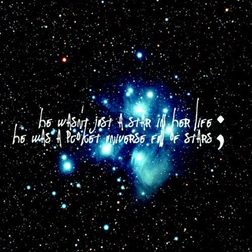★ look at the stars, look how they shine for you ★